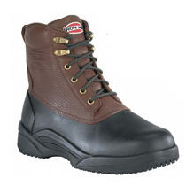 Iron Age Men's Black/Brown IA9650 Waterproof Steel Toe Boots #IA6950