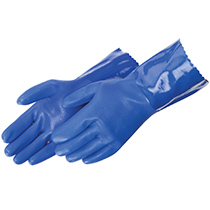 Liberty Glove Sandy finish blue PVC #2753BL