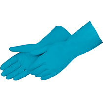 Liberty Glove BLue latex canners - crinkle finish - #2988SL