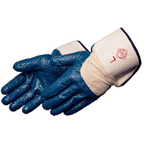 Liberty Glove Rough finish blue nitrile - #9330