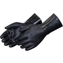 Liberty Glove Rough finish black neoprene supported glove - #9532