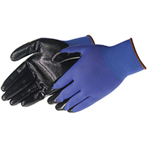 Liberty Glove Q-Grip® Ultra-Thin Nitrile Palm Coated (blue nylon shell) - #4631Q_BL