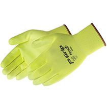 Liberty Glove P-Grip® Fluorescent Yellow PU Palm Coated - #4636