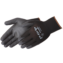 Liberty Glove P-Grip® Black Nylon/Polyurethane W/ Black PU Coating - #4638BK