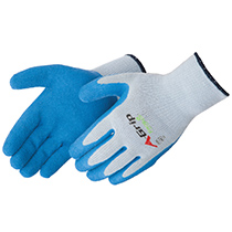Liberty Glove A-Grip® - Premium Textured Blue Latex Palm Coated - #4700