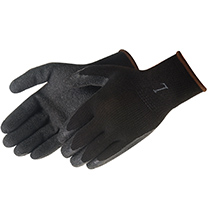 Liberty Glove A-Grip® - Premium Textured Black Latex Palm Coated - #4729BK