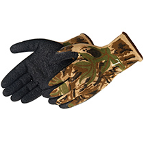 Liberty Glove A-Grip® Textured Black Latex Coated (Camouflage) - #4729CA
