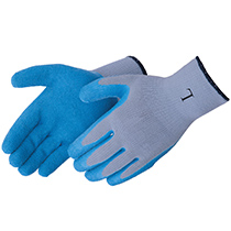 Liberty Glove A-Grip® Textured blue latex palm coated - #4729QG