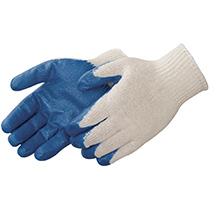 Liberty Glove A-Grip® Textured blue latex palm coated - #4749BL