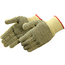 Liberty Glove 100% Kevlar® Knit with PVC Dots - #4815KC