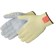 Liberty Glove 100% Kevlar® knit sewn with leather palm - #4883