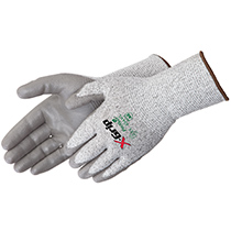 Liberty Glove X-Grip® Gray Polyurethane Palm Coated - Long Cuff - #4944
