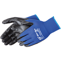 Liberty Glove G-Grip Foam Nitrile Palm Coated - #F4030BK
