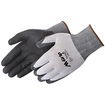Liberty Glove M-Grip® Black High Density Polyurethane Palm Coated - #F4610