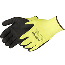 Liberty Glove A-Grip® - Premium Textured Black Foam Latex Palm Coated Seamless Glove - #F4779LG - #F4779LG
