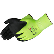 Liberty Glove Ultra X-Grip® Gray micro-foam nitrile palm coated