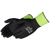 Liberty Glove Ultra X-Grip® Gray micro-foam nitrile fully coated - #F4920BK