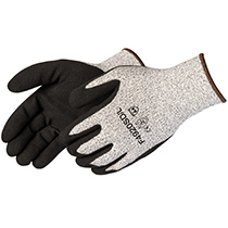 Liberty Glove HPPE with black sandy nitrile palm coated - #F4920SD