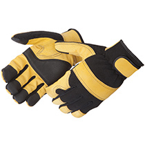 Liberty Glove Lightning Gear® GoldenKnight™ Golden Grain Pigskin Mechanic Glove #0912