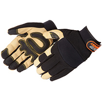 Liberty GLove Lightning Gear® GoldenKnight™ premium pigskin Mechanic Glove #0913