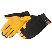 Lightning Gear® GoldenKnight™ premium grain deerskin mechanic glove #0918
