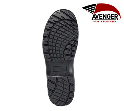 Women's Avenger Composite Toe WP Metal Free Slip-On Work Shoe #A7169