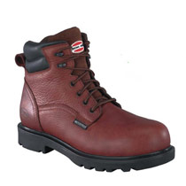 "Iron Age Men's 6"" Brown Waterproof Work Boots  #IA0160"
