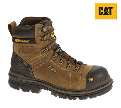 "Caterpillar HAULER 6"" Waterproof Composite Toe Work Boot #P90449"