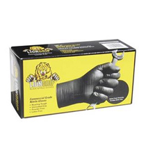 EPPCO Lion Grip Black Nitrile Gloves