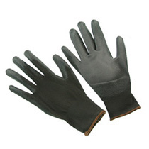 Seattle Glove BPU4 Black Polyurethane Palm Coated Glove