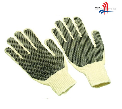 Seattle Glove Seattle Glove Polyester Dotted String Knit - S-0316DD