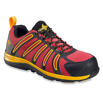 Nautilus Carbon Composite Fiber Toe Super Light Weight Slip Resistant EH Safety Shoes #N1742 Red