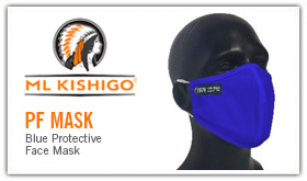 ML Kishigo PF Mask Yellow Protective Face Mask