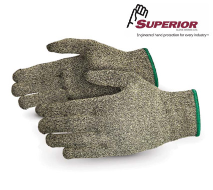 Superior Dexterity® Cut-Resistant String-Knit Glove #S13KF